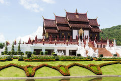 The thailand royal pavilion Stock Photos