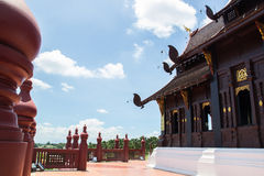 The thailand royal pavilion terrace Stock Images