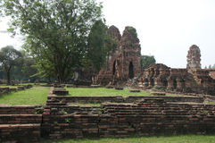 Thailand in ruins Royalty Free Stock Photos