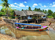 Thailand rural landscape Royalty Free Stock Photography