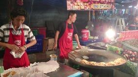 Thailand's ancient cuisine stock video