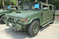 Thailand's army truck Stock Image