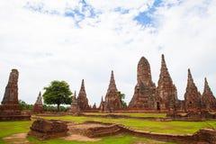 Thailand's Ayutthaya monuments Stock Images
