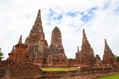 Thailand's Ayutthaya monuments Stock Photos