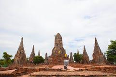 Thailand's Ayutthaya monuments Royalty Free Stock Image