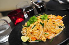 Thailand's fried rice noodle - Pad Thai Royalty Free Stock Photo