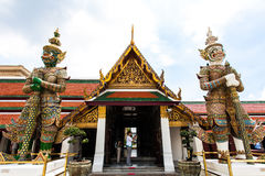 Thailand's Grand Palace. Grand Palace (The Grand Palace) next to the Chao Phraya River, is a large-scale ancient architectural complex in central Bangkok (28) Stock Images
