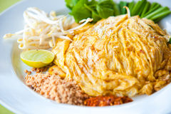 Thailand's national dishes : Pad Thai Royalty Free Stock Photo