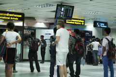 Thailand's phuket airport Royalty Free Stock Photo