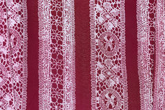 Thailand's silk hand woven. Royalty Free Stock Photography