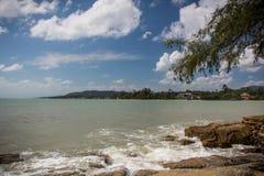 Thailand, Samui sea view. Thailand, Samui, somewhere on the beach Stock Image