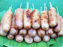Thailand Sausage Royalty Free Stock Photo