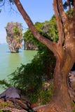 Thailand. Scenic James Bond Island near Phuket. Royalty Free Stock Photography
