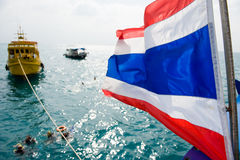 Thailand scuba diving boat Royalty Free Stock Photography