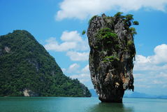 Thailand sea background Royalty Free Stock Photography