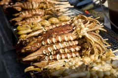Thailand seafood Royalty Free Stock Image