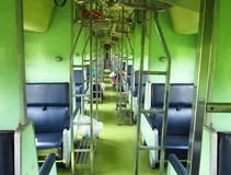 Thailand second class passenger car Royalty Free Stock Images
