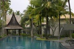 Thailand semesterort. Arkivbild