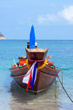 Thailand ship and sea Stock Images