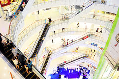 Thailand shopping mall Royalty Free Stock Image