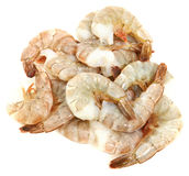 Thailand Shrimp Raw  Deveined Stock Photography