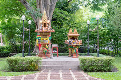 Thailand Shrine. The  Shrine in Bangkok, Thailand Stock Photography
