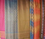 Thailand Silk royalty free stock photography