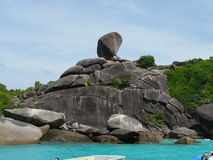 Thailand Similan island Royalty Free Stock Photo