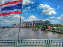 Thailand Siriraj sjukhus royaltyfri fotografi