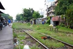 Thailand : Slum Area Royalty Free Stock Photography