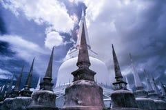 Thailand som tas i near Infrared royaltyfri fotografi