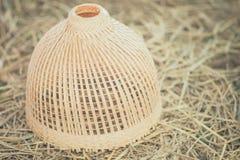 Thailand souvenir chicken coop. Made with bamboo stock photo