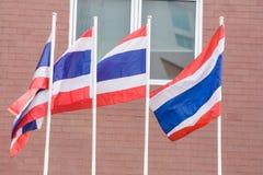 Thailand-Staatsflagge Lizenzfreies Stockfoto