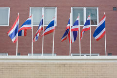 Thailand-Staatsflagge Stockfoto