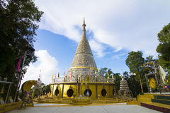 Thailand Stainless Temple Royalty Free Stock Photos