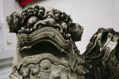 Thailand Statue Foo Dog Royalty Free Stock Photography