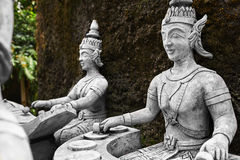 thailand Statue nel giardino segreto di Buddha in Koh Samui buddhism fotografie stock libere da diritti