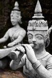thailand Statue segrete magiche del giardino di Buddha in Samui Viaggio, T immagine stock libera da diritti