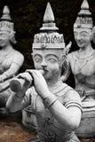 thailand Statue segrete magiche del giardino di Buddha in Samui Viaggio, T fotografie stock