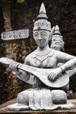 thailand Statue segrete magiche del giardino di Buddha in Samui Viaggio, T immagini stock