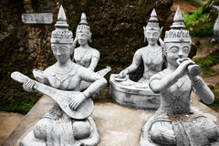 Thailand. Statues In Secret Buddha Garden In Koh Samui. Buddhism Royalty Free Stock Image
