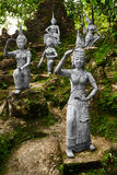 Thailand. Statues In Secret Buddha Garden In Koh Samui. Buddhism Stock Images