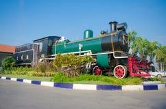 Thailand steam locomotive Royalty Free Stock Photos