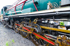 Thailand steam locomotive. Royalty Free Stock Photo