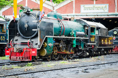Thailand steam locomotive. Stock Images