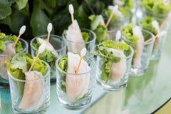 Thailand steamed dumplings stock photography