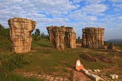 Thailand stonehenge Stock Images