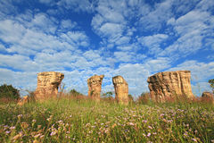 Thailand stonehenge Stock Photography