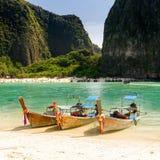 Thailand strand royaltyfria bilder