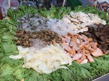 Thailand street food. Store selling Thai style Stock Image